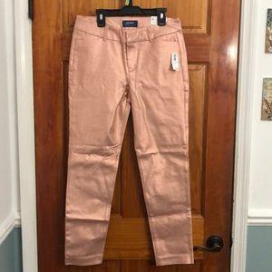 Old navy pink shiny jeans